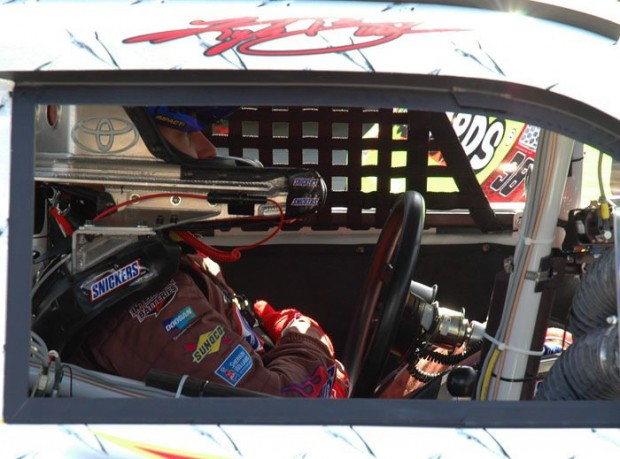 Kyle in His Car at Goody's 500