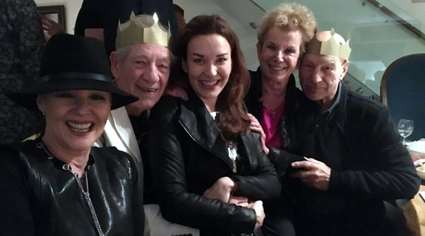 Ian with Dena Hammerstein and Others