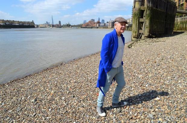 Sir Ian McKellen at The River Thames