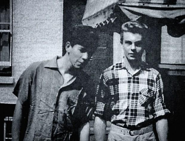 Ian and Derek in their Cambridge days