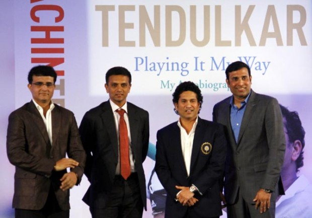The 4 Indian Cricket Legends Sourav, Dravid, Sachin and VVS