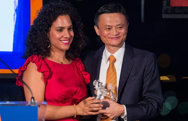 Jack Ma with Game Changer of The Year Award
