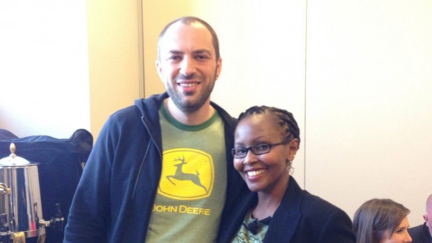 Jan Koum and Juliana Rotich