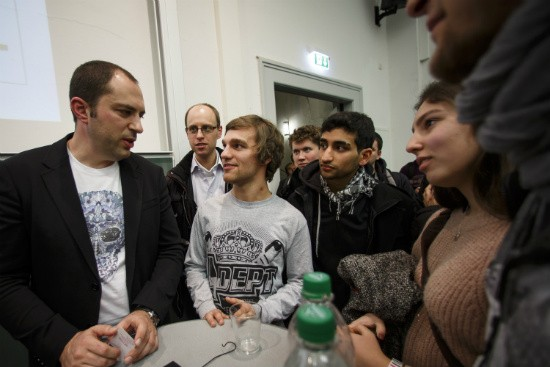 Jan Koum at an Event