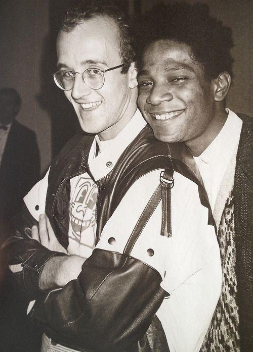 Keith Haring aand Jean-Michel Basquiat