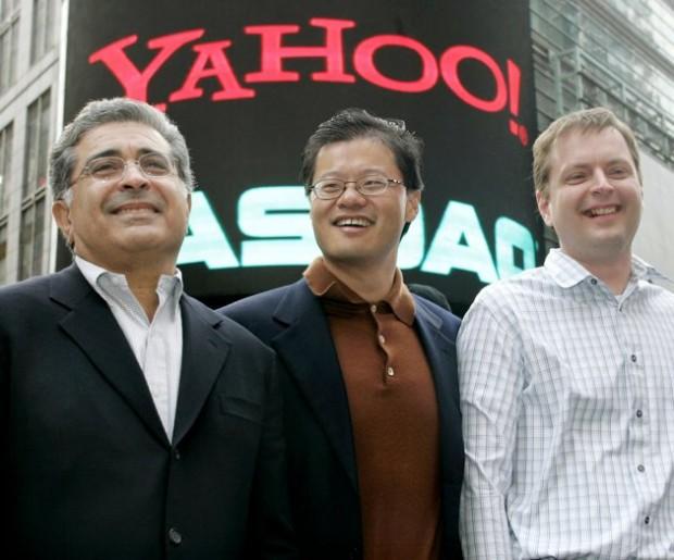 Jerry Yang at NASDAQ