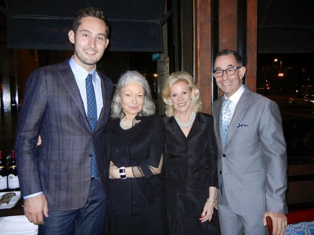 Kevin Systrom, Denise Hale and Dede Wilsey