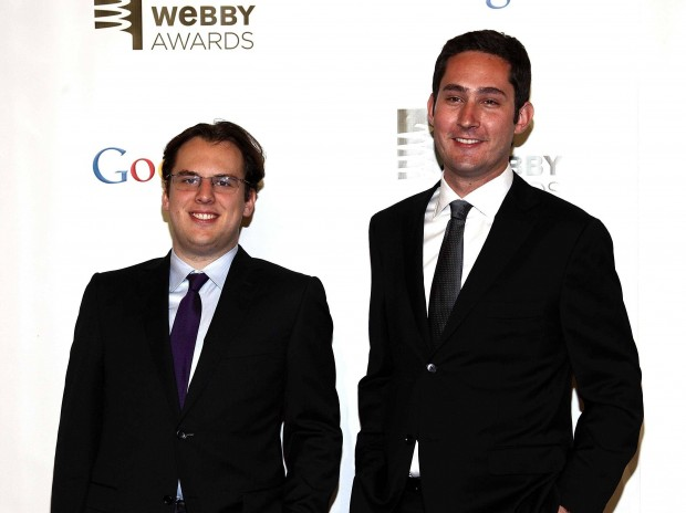 Instagram Founder Kevin Systrom and Mike Krieger