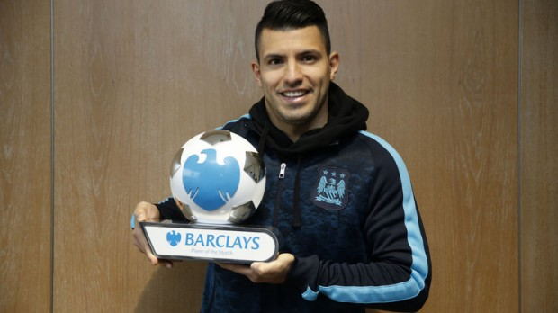With his player of the month award