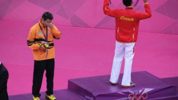 Lee gets Emotional For Not Wiinning Gold Medal at Olympics