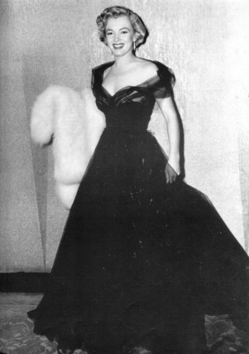 Marilyn Monroe in 1951 Oscars