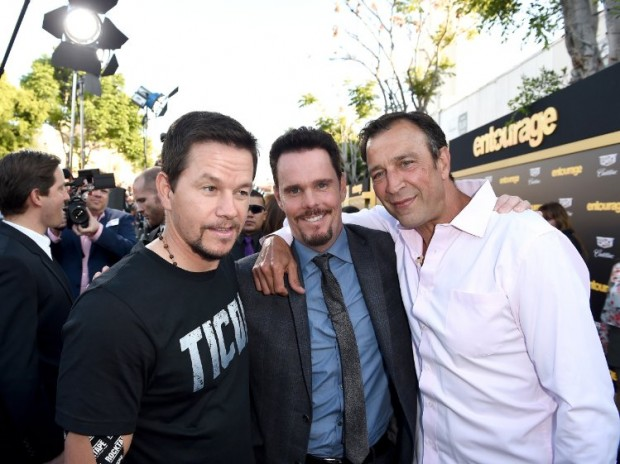 Mark Wahlberg, Kevin Dillon and Johnny Alves