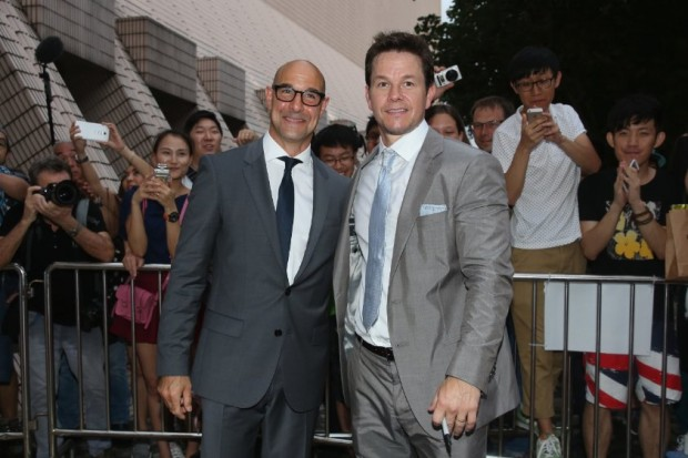 Mark Wahlberg and Stanley Tucci