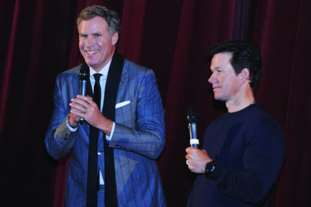 Mark Wahlberg and Will Ferrell at event of Daddy's Home