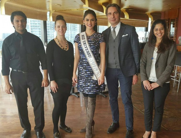 Pia Wurtzbach wuth Marlon Gonzales and Others