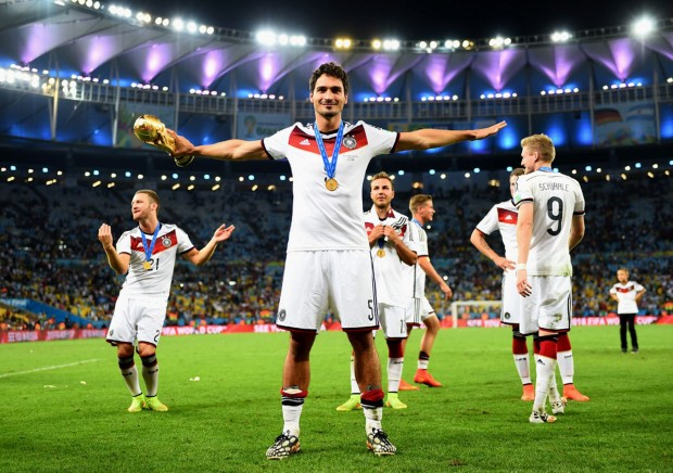 Mats Hummels with World Cup