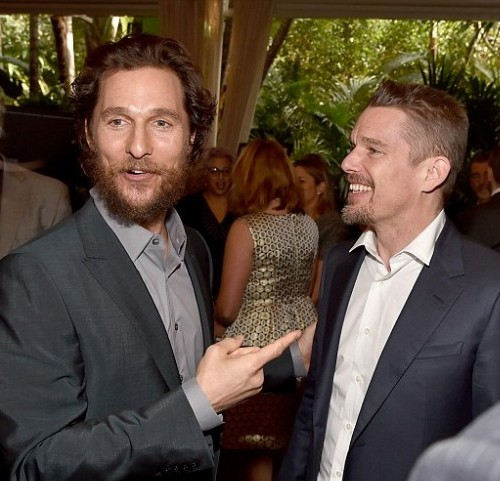 McConaughey got a rise out of Hawke