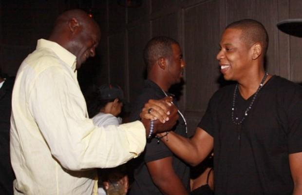 Jay Z meets Michael Jordan