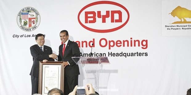 BYD Grand Opening At Los Angeles