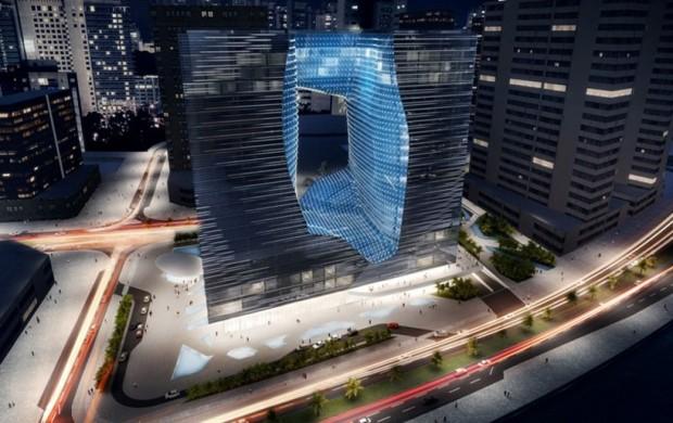 Opus Building in Dubai