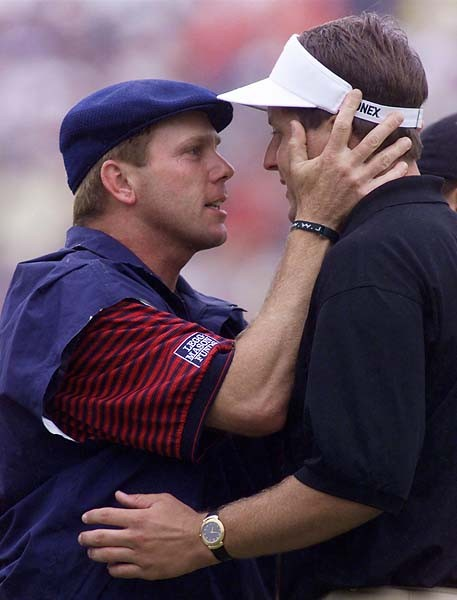 Payne Stewart and Phil Mickelson