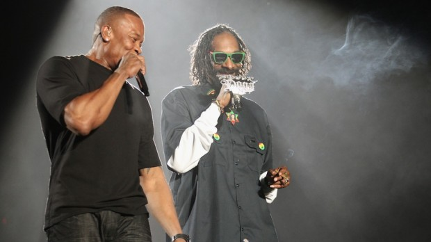 Performance with Snoop Dogg
