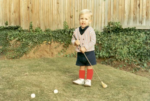 Phil in His Childhood