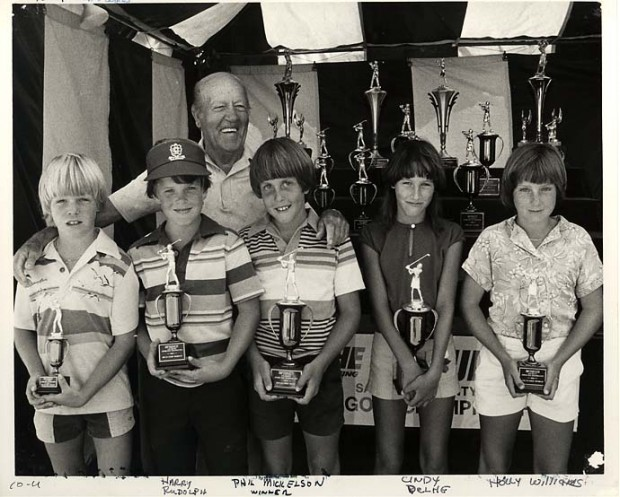 Phil with Junior World Champions Trophy in 1980
