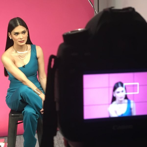 Pia during a Photoshoot