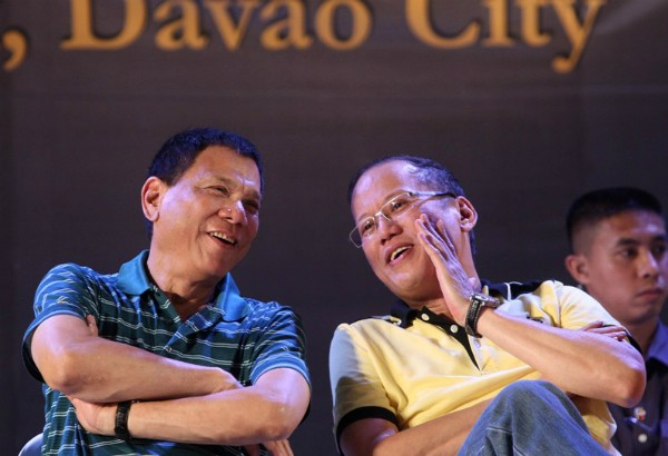 Rody with Philippines President Benigno Aquino III
