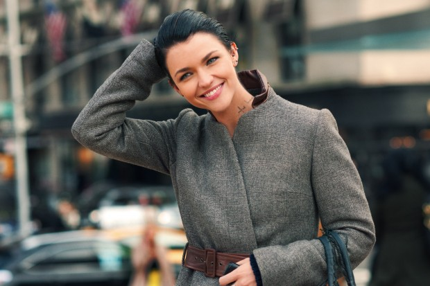 Ruby Rose Model Winter Style Clothes