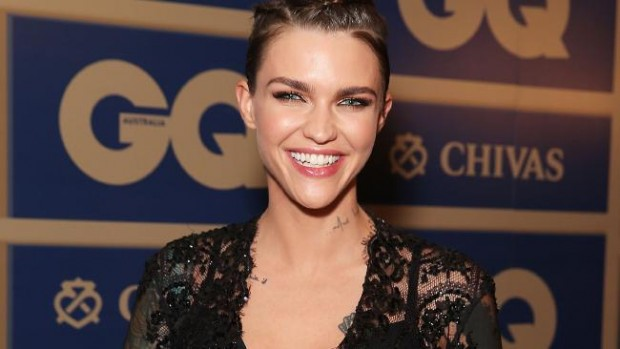 Ruby Rose was awarded GQ Woman Of The Year for 2015
