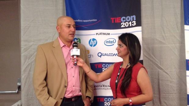 Sabeer Bhatia at TiEcon