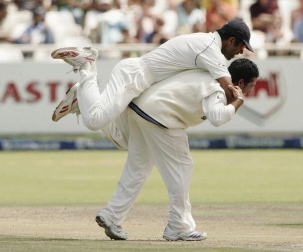 Dravid and Sachin