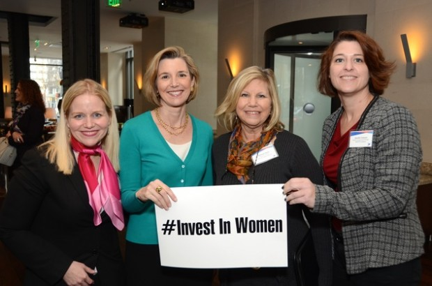 Sallie Krawcheck, Deborah Stavis and Jennifer Emerson