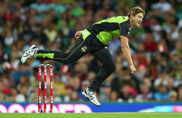 Shane Watson Played For Sydney Thunders in KFC Big Bash