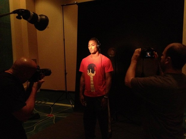 Derrick at Skullcandy Photo Shoot