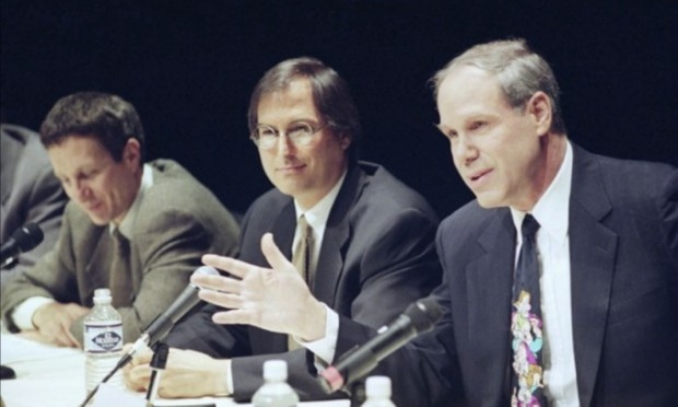 Steve Jobs at Toy Story Press Conference