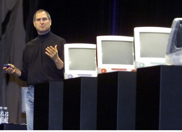 Steve during a Presentaion