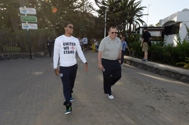 D Rose with Coach Thibs
