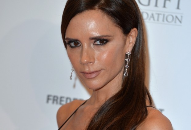 Victoria Beckham Presence at Global Gift Gala in Four Seasons Hotel