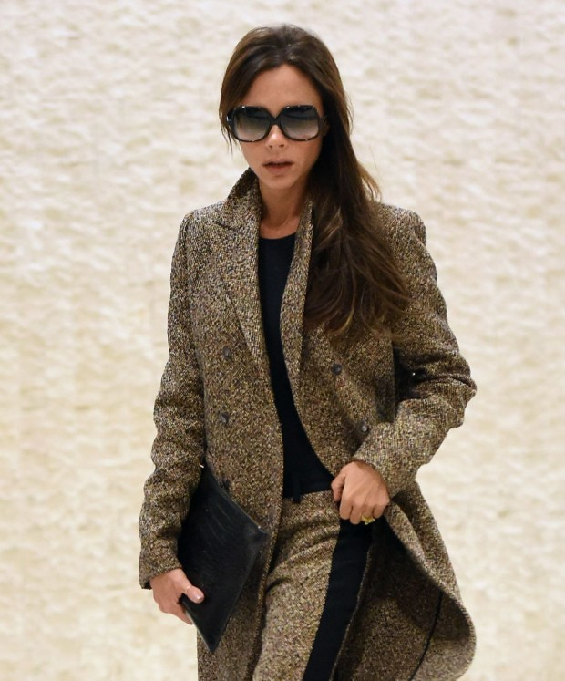 Victoria Beckham at JFK Airport in New York