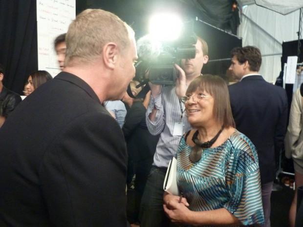 Michael Kors With Hilary Alexander