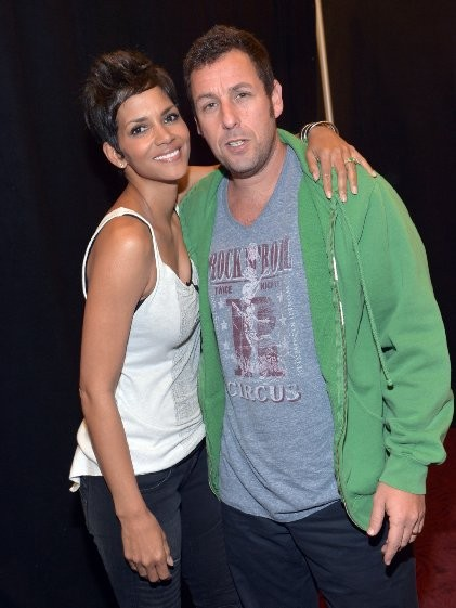 Halle Berry and Adam Sandler