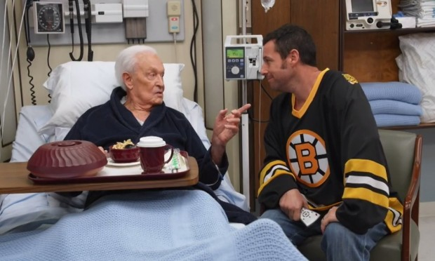 Adam Sandler with Bob Barker