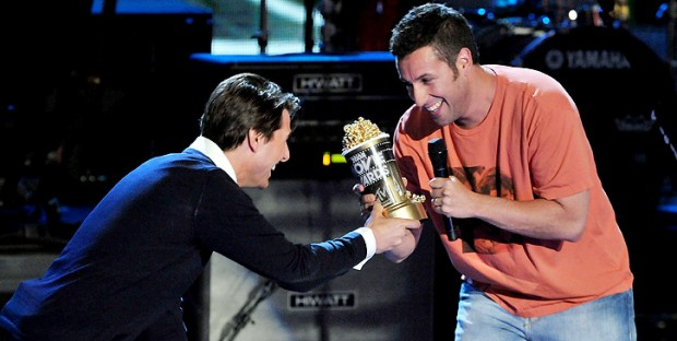 Tom Cruise Presenting MTV Movie Award to Adam Sandler