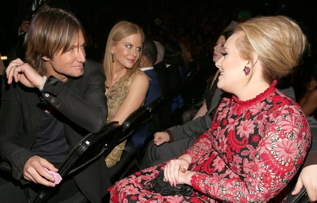 Adele in conversation Keith Urban and Nicole Kidman