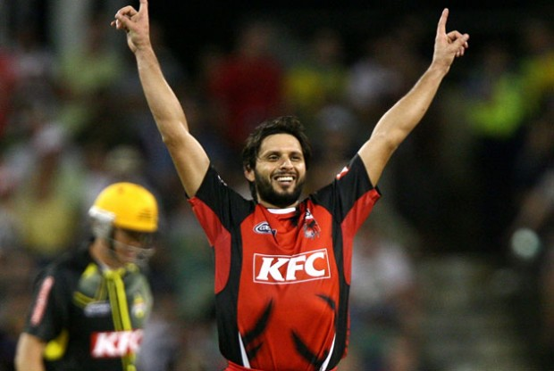 Afirdi in Big Bash