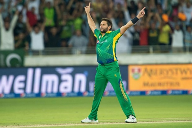 Afridi in His Style