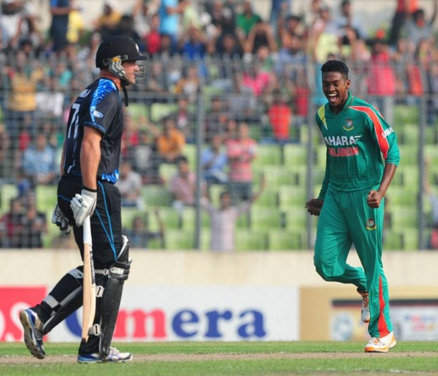 Al Amin Hossain T20 Debut Match